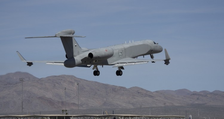 CAEW (Conformal Airborne Early Warning) del 14° Stormo