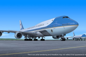 USA VC-25B Air Force One
