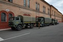 8 - Partenza dei DPI dalla sede della Brigata Aeromobile Friuli
