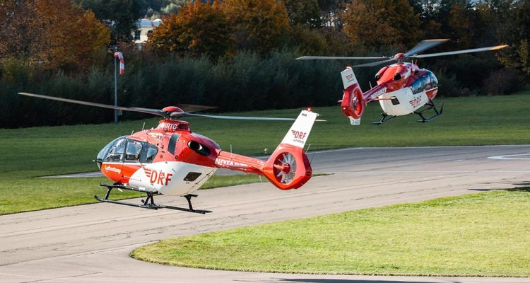 Airbus Helicopters H145 e H135 DRF Luftrettung