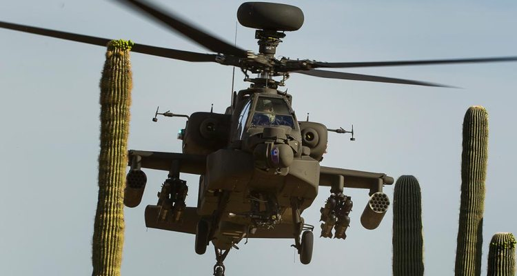elicottero ah64e apache