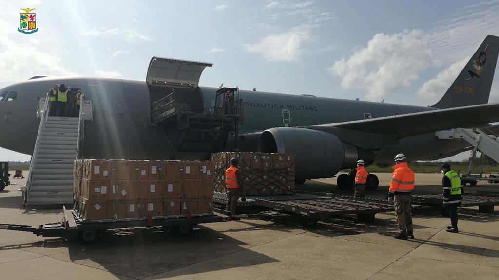 KC-767 Aeronautica Militare trasporti sanitari coronavirus