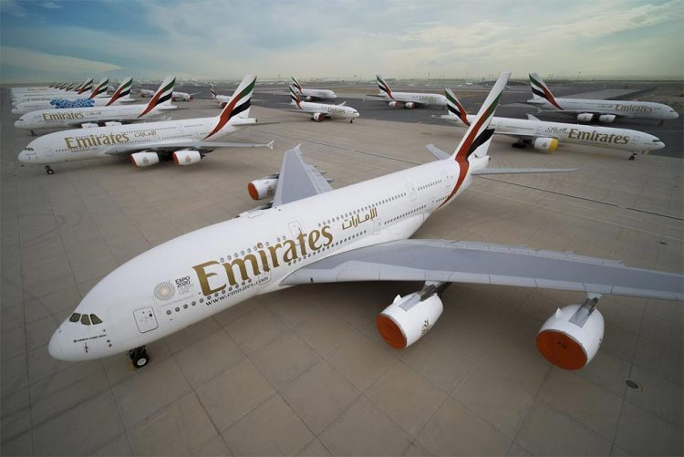 airbus A380 emirates airlines