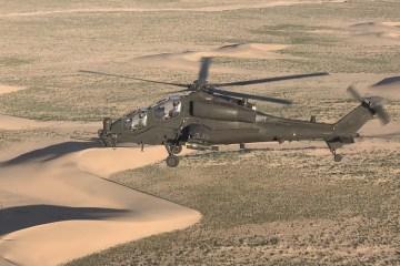 AH-129D Mangusta in Afghanistan