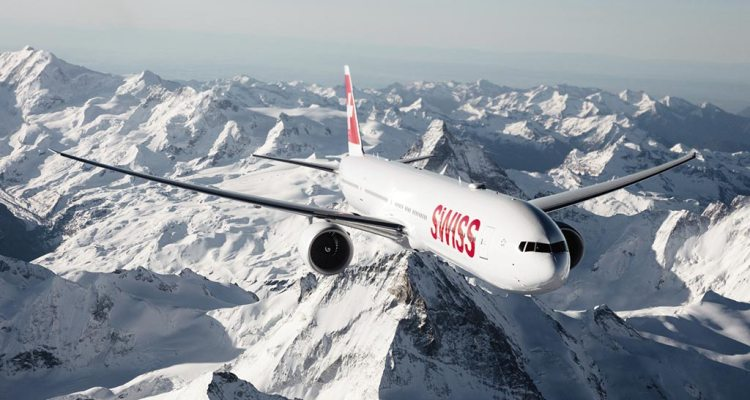 swiss airlines 777