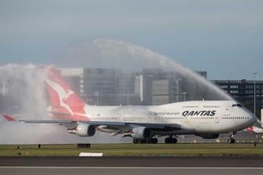 Qantas B747 Farewell