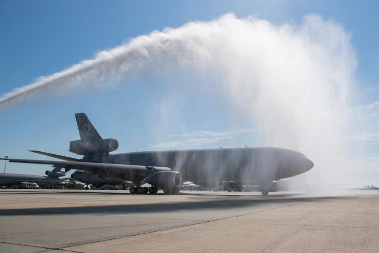 USAF KC10 Extender ritirato dal servizio