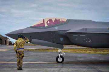 f35 aeronautica militare in islanda