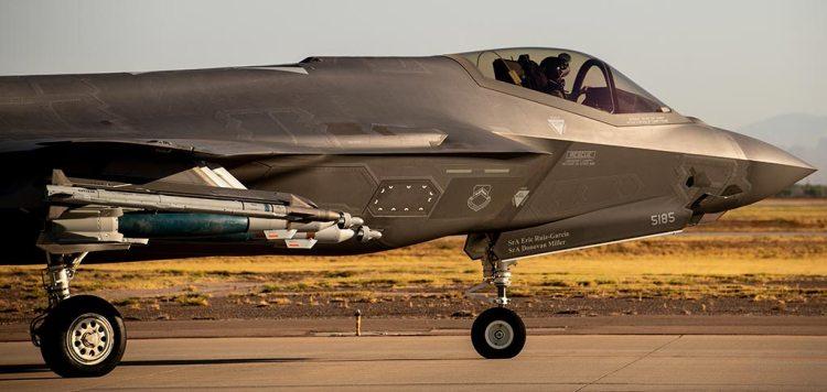 USAF F-35A in configurazione Beast Mode