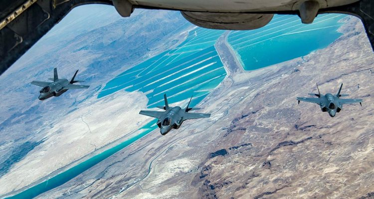 esercitazione Enduring Lightning II F-35