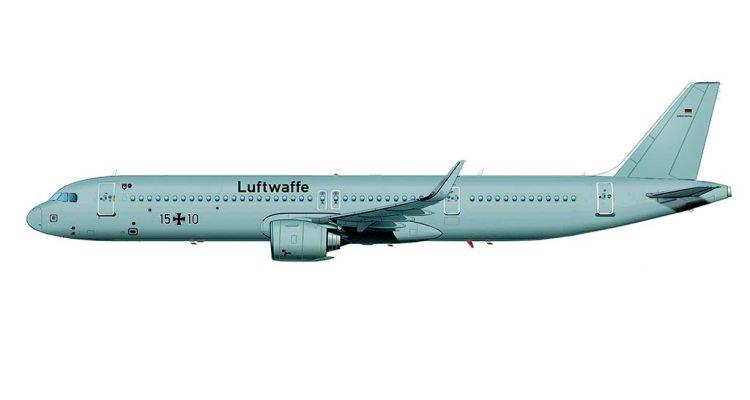Airbus ACJ A321LR Luftwaffe