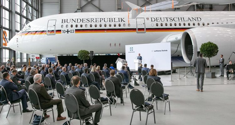 Aribus A350 governo tedesco