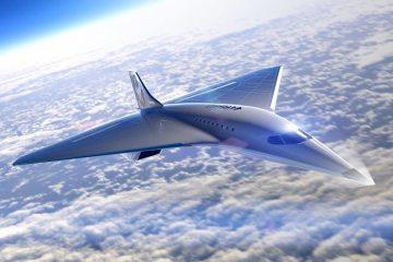 Virgin Galactic aereo Mach 3