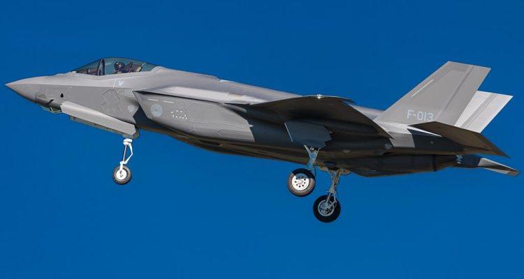 F-35A F013 olandese
