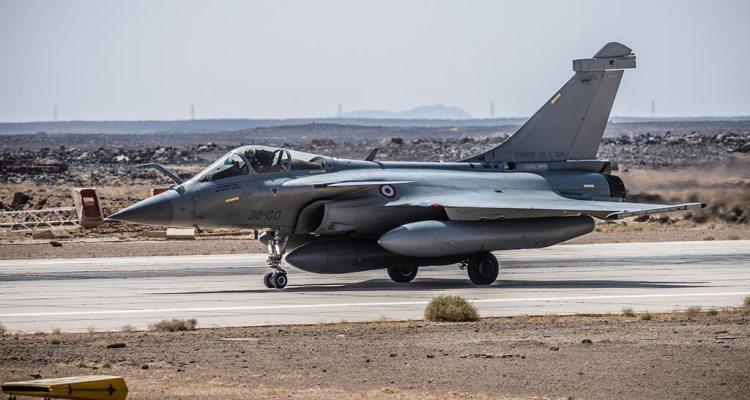 Rafale F3-R Armée de l'Air in Giordania
