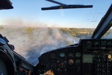 Vista-cabina-HH-412-Incendio-zona-Cerveteri
