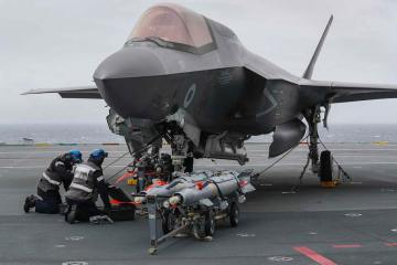 F-35B Royal Navy inglese