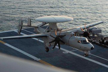 US Navy E-2D HawkEye