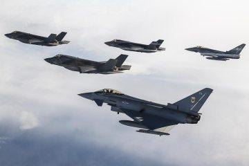 F-35 americani ed Eurofighter della RAF