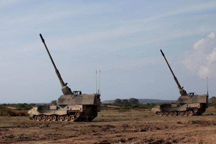 Batteria di PzH 2000 @ Esercito Italiano