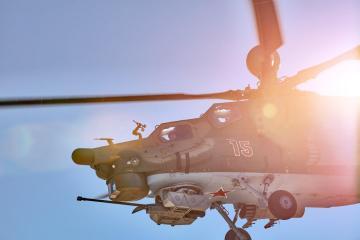 elicottero da combattimento MIL28NM super hunter