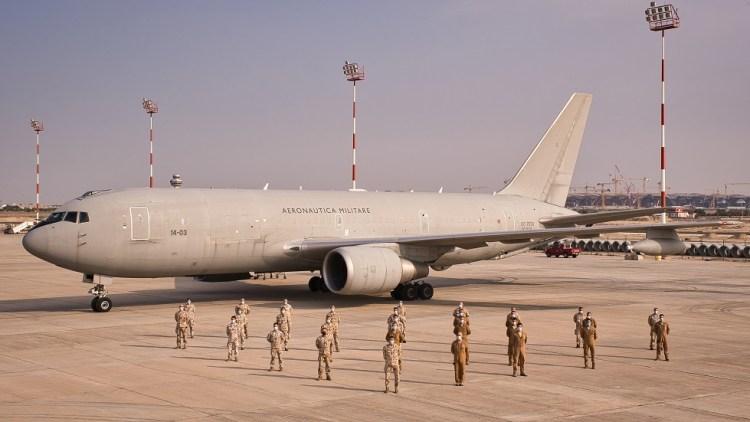 KC-767A Aeronautica Militare in Kuwait 7000 ore di volo