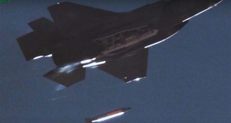 F35 lancio bomba nucleare tattica b61