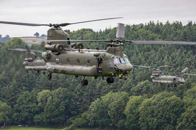 RAF Chinook 40 anniversario