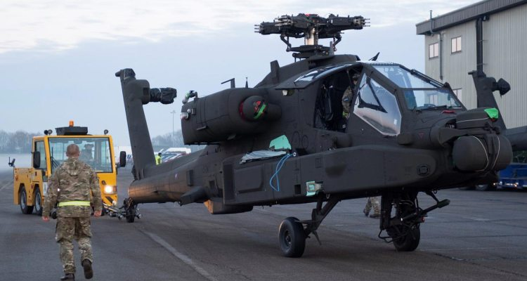 Royal Army AH-64E Apache
