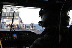 A-Wildcat-of-847-NAS-lands-on-the-deck-of-the-Garibaldi