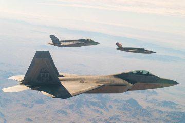 formazione di F22 F35 e XQ58