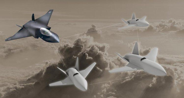 Droni Loyal Wingman per la Royal Air Force inglese