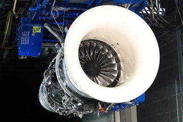 motore Rolls-Royce Trent 1000 SAF