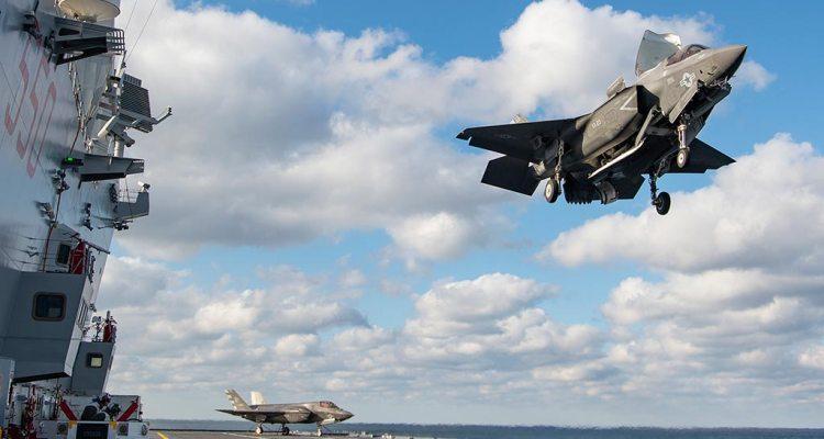 F-35B americani su nave cavour