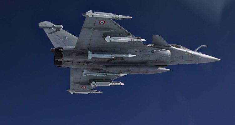 Rafale F3R con missili METEOR