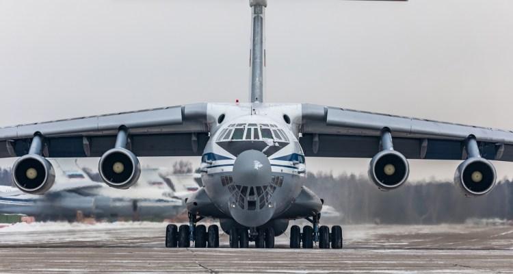 IL-76MD Candid