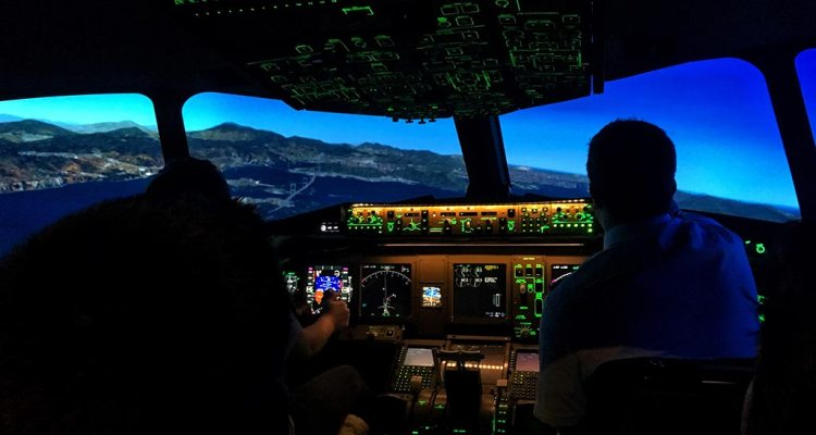 cockpit aereo civile