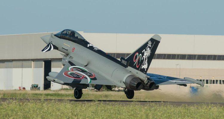 Eurofighter Special Color 90° Anniversario 4° Stormo