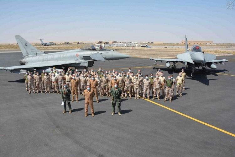 Kuwait 3000 ore di volo e 10000 obiettivi ricogniti dai Typhoon italiani