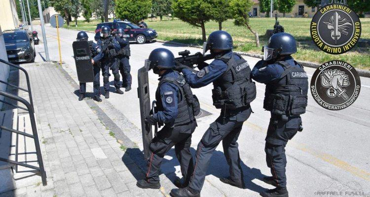 Arma dei Carabinier API e SOS