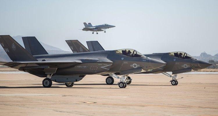 Marines USA VMFA314 F-35C