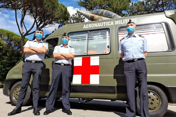 Infermeria ISMA Aeronautica Militare Covid19