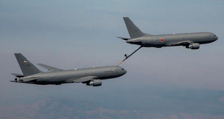 Primo rifornimento in volo per il KC-46 giapponese
