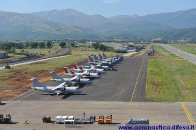 aeroporto dei parchi di preturo