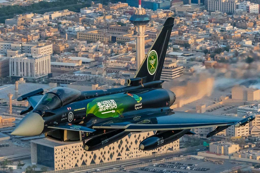 Eurofighter special color 2021 Royal Saudi Air Force