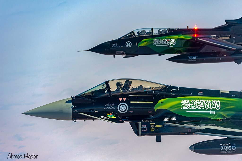 Tornado ed Eurofighter special color 2021 Royal Saudi Air Force