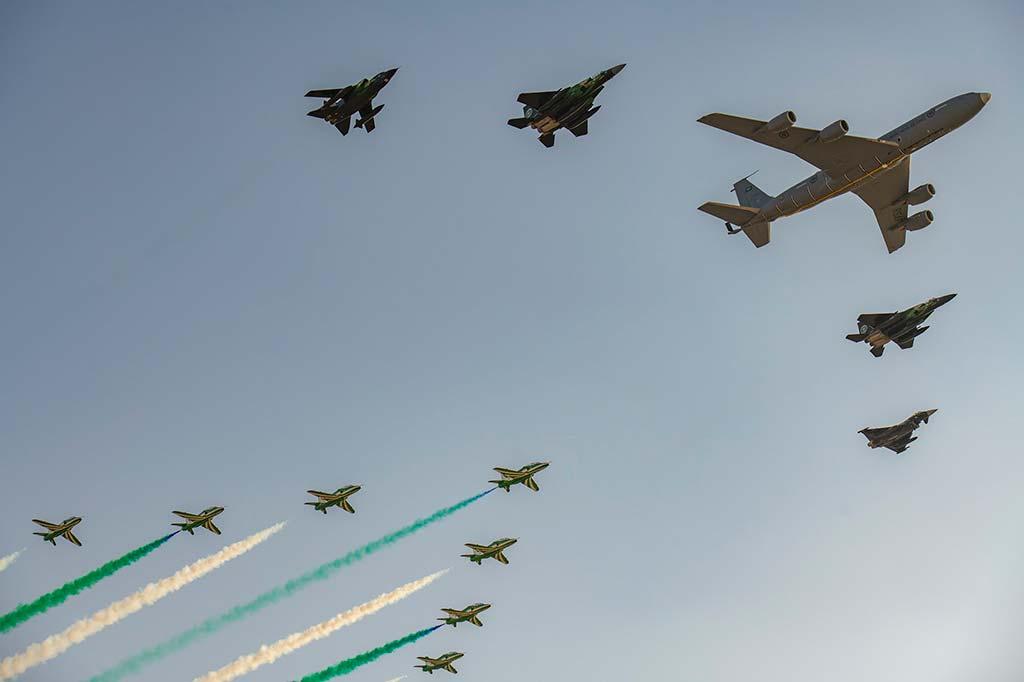 velivoli special color 2021 Royal Saudi Air Force