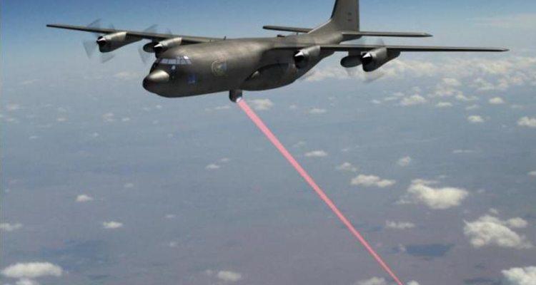 AC-130J con arma laser