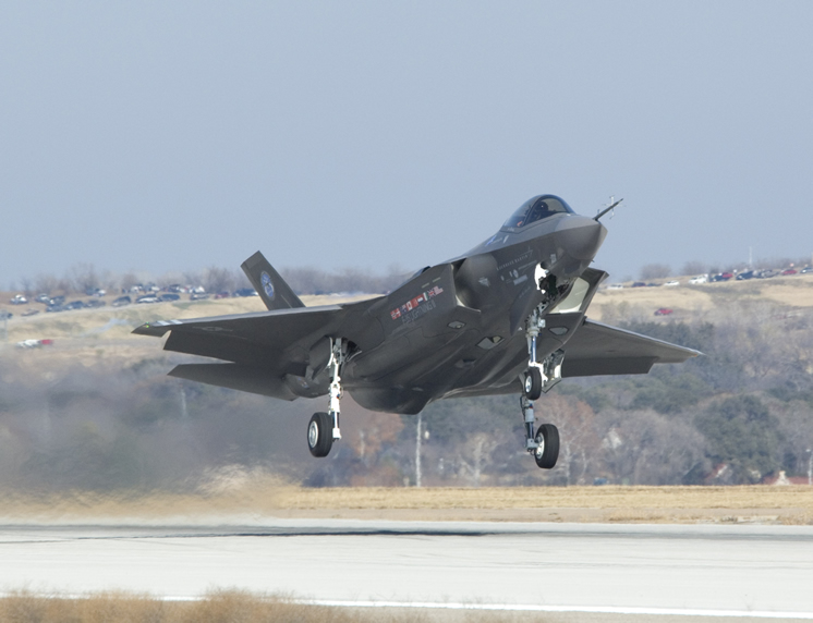 F-35 Lightning Takeoff (CTOL)