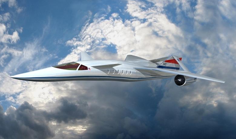 Lockheed Martin Quiet Supersonic Transport (QSST) Private